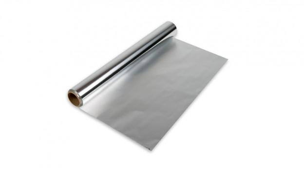 Folia d'aluminium.