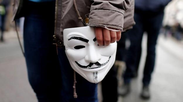 Mascra da Guy Fawkes