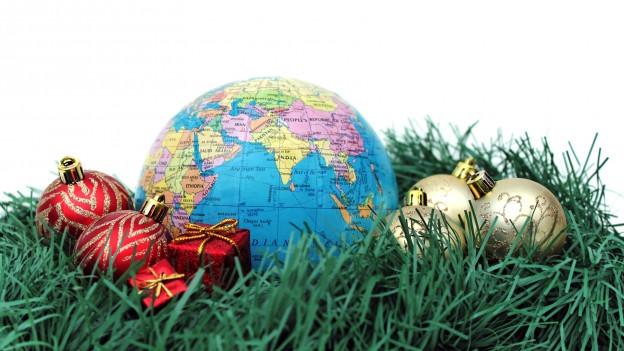 Globus e cullas da Nadal.