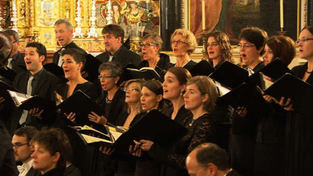 Chor cantus firmus surselva.