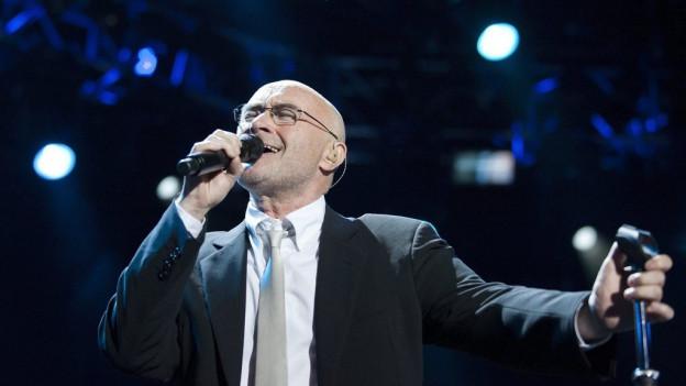 Purtret da Phil Collins.