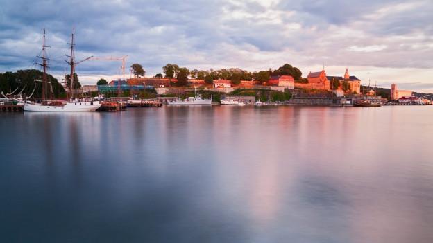 Vista sin la citad da Oslo