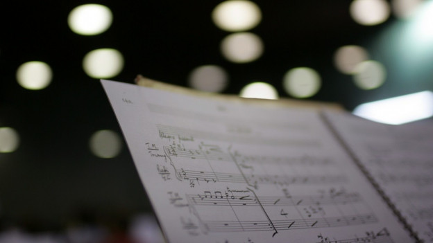Maletg simbolic - in figl da notas da musica