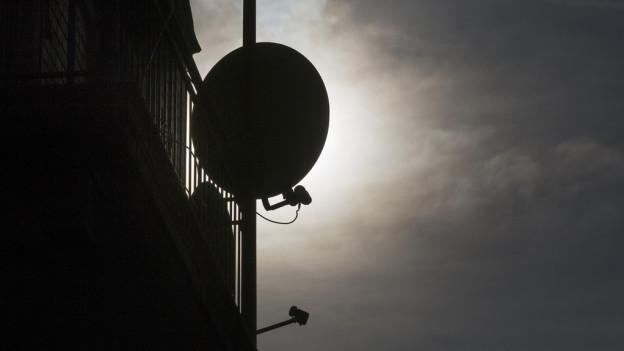 La midada da SD sin HD pertutga mo la recepziun sur satellit.