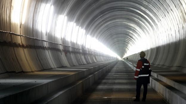 Tunnel dal Gottard.
