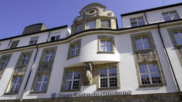Sedia principala da la Banca Chantunala Grischuna.