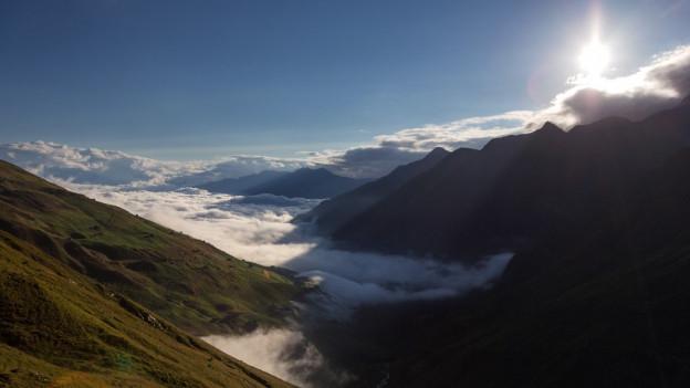 Vista en Val Lumnezia.