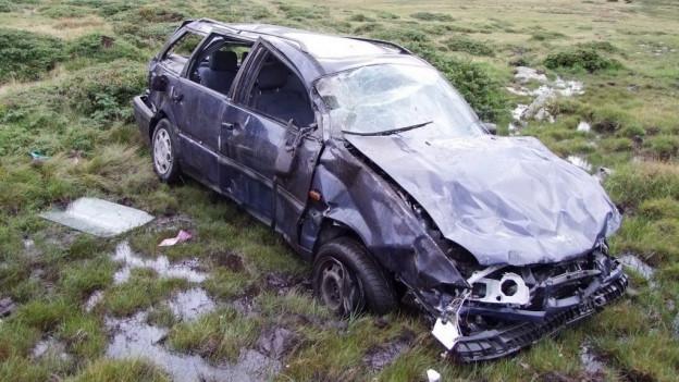 Auto nair, destruìi totalmain