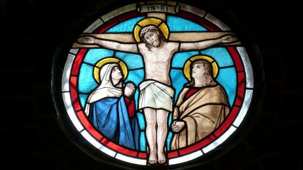 Jesus vid la crusch.
