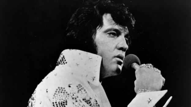 Purtret dad Elvis Presley.