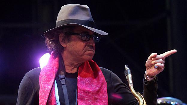 Il musicist Gato Barbieri