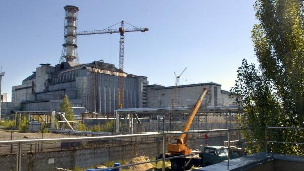 L'ovra atomara a Tschernobyl en l'Ucraina