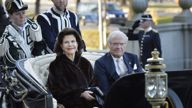 Retg Carl Gustaf e regina Silvia