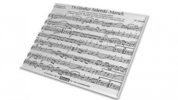 Las notas dal Dr. Günther Sabetzki-Marsch.