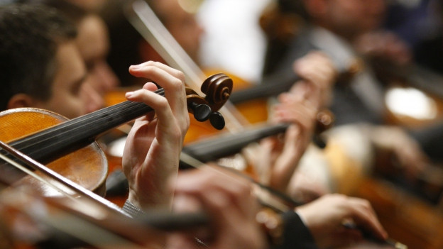 Violinists da la Vienna Philharmonic Orchestra