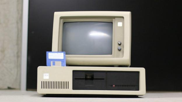 Vigl computer dad IBM cun disk