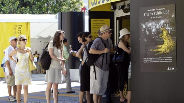 cassa Festival da film a Locarno