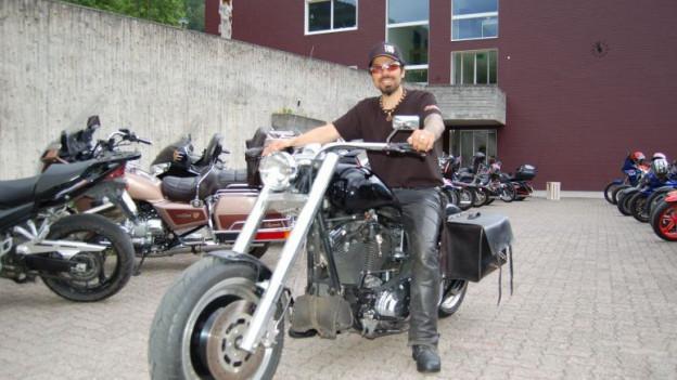 Gioni Coluccello e sia Harley.