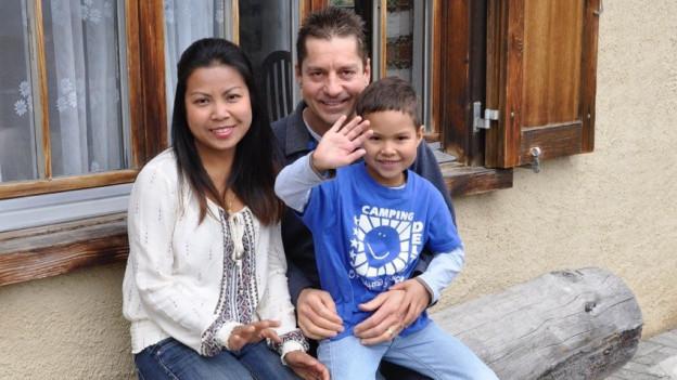 La famiglia Schlomann, ils emprims fittadins da La Scuntrada.