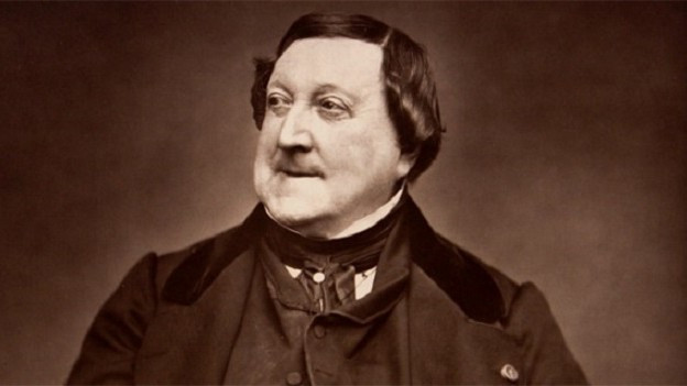 Portrait von Rossini
