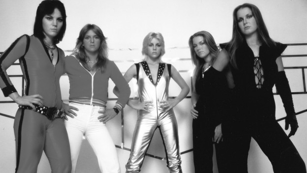 La band da dunnas «The Runaways»