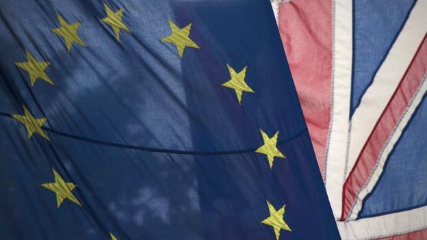 Bandiera da l'UE e da la Gronda Britannia