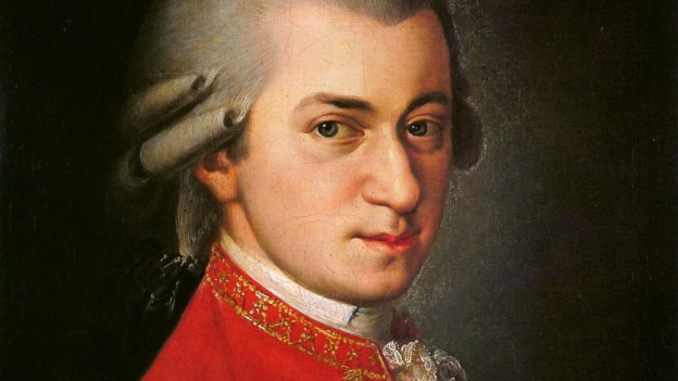 Purtret dad Wolfgang Amadeus Mozart.
