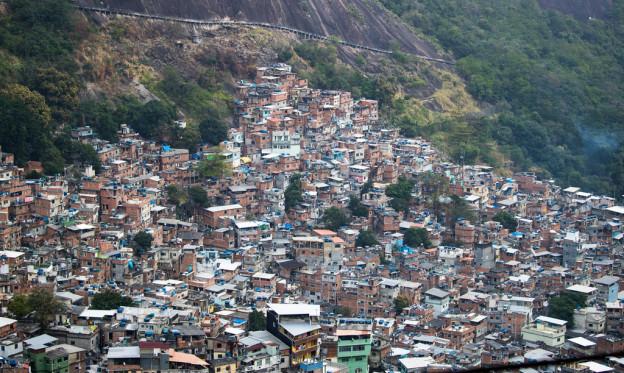 Rio de Janeiro, Favela Rocinha.