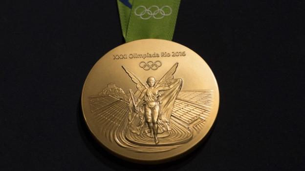 La medaglia dad aur – il siemi da tut ils sportists a Rio.