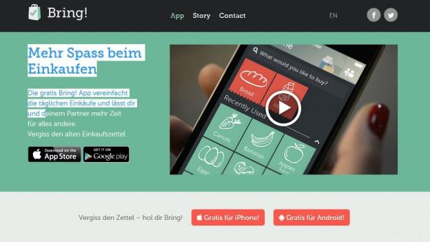 L'app Bring