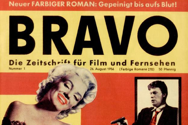 Marilyn Monroe era sin l'emprim cover da la BRAVO dal 1956