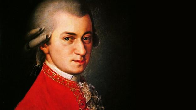 Il cumponist Wolfgang Amadeus Mozart.