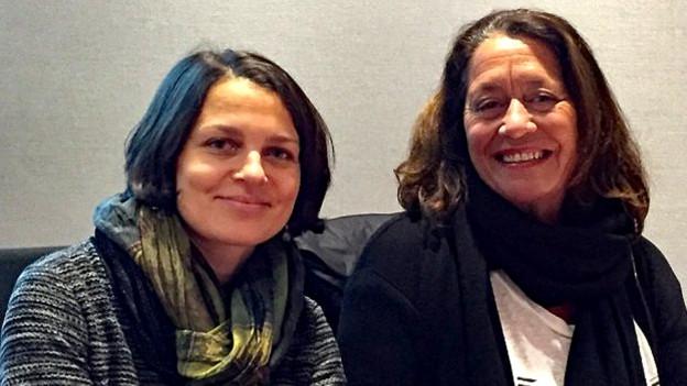 Bettina Vital e Claudia Knapp