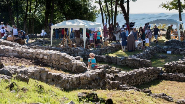Il parc archeologic Tremona Castello.