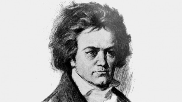Il cumponist Ludiwig van Beethoven.
