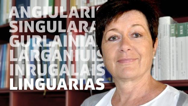 La linguista Anna-Alice Dazzi.