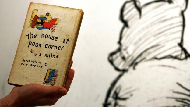 L'emprima ediziun americana da Milnes Winnie-the-Pooh.