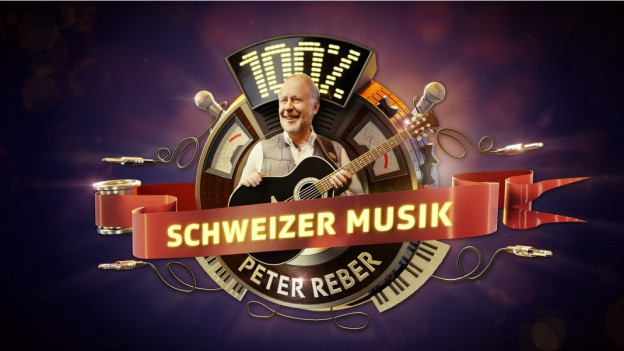 Logo da l'emissiun 100% Schweizer Musik.