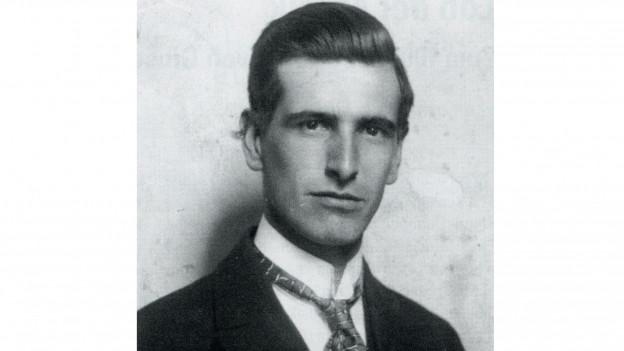 Il seminarist Giusep Maissen (ca. 1927)