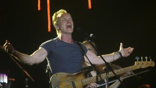 Cun in concert da Sting vegn il local «Bataclan» puspè averts questa saira.