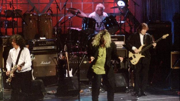 cun Robert Plant e Jimmy Page