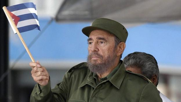 Fidel Castro, qua anc avant 10 onns. Oz è el mort en la vegliadetgna da 90 onns.