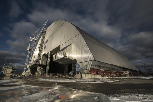 Il «sarcofag» sur la ruina atomara da Tschernobyl