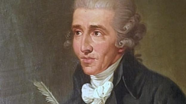 Il cumponist Joseph Haydn.