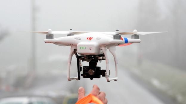 Ina drona per far fotos e films.