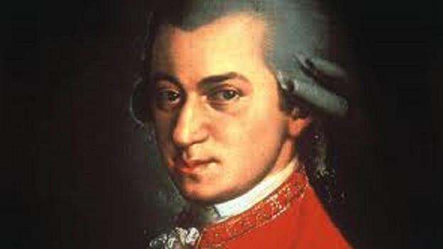 Portrait von Mozart