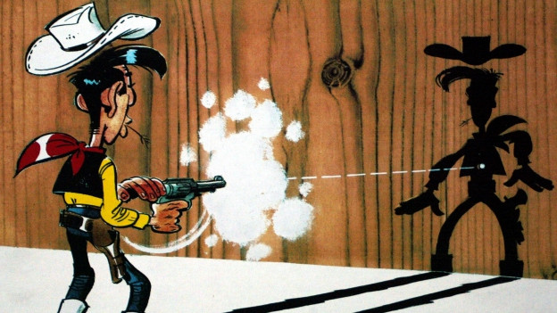 Lucky Luke - pli svelts che sia sumbriva.