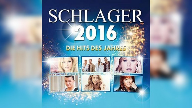 Il cover dal niev disc Schlager des Jahres 2016