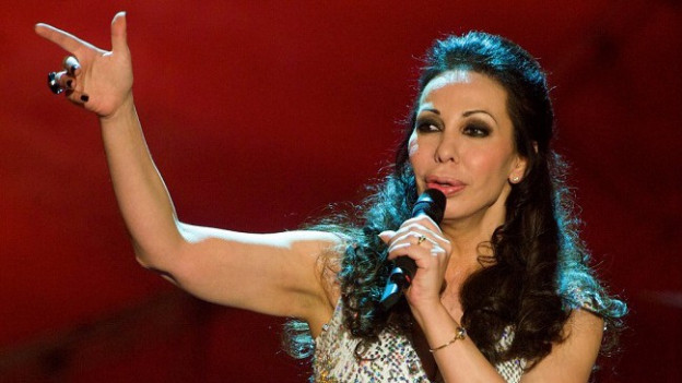 La chantadura Jennifer Rush.