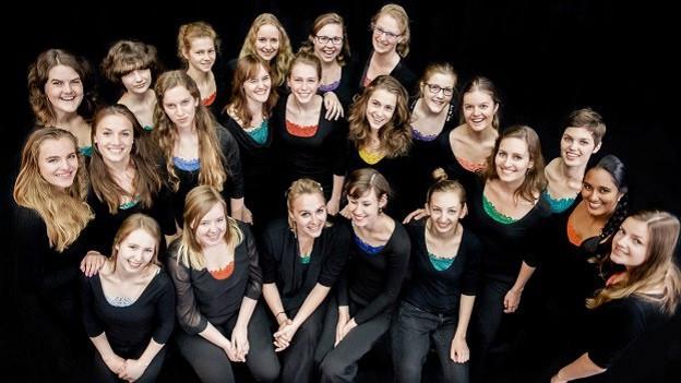 Junge Sängerinnen und Sänger aus Holland.